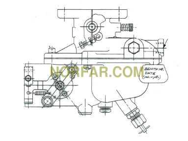 zenith 14995 carburetor - norfar.com brigg stratton lawn mower carburetor diagram model 09t602 #14