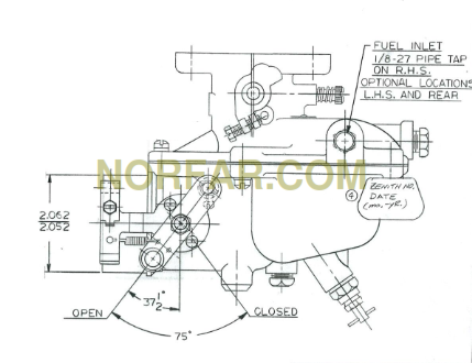 zenith 14996 carburetor replacement for marvel schebler carburetor rh norfar com zenith carburetor line diagram zenith carburetor adjustment land rover