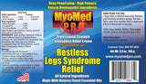 MyoMed P.R.O. Restless Legs Syndrome Relief Ingredient Label