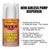 MyoMed P.R.O. Back Knee & Shoulder Airless Pump Dispenser