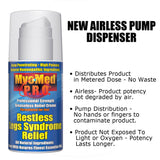 MyoMed P.R.O. Restless Legs Syndrome Relief New Airless Pump Dispenser