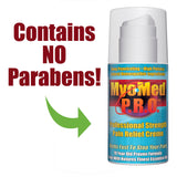 Myomed P.R.O. Professional Strength Pain Relief Cream Contains No Parabens