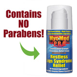 MyoMed P.R.O. Restless Legs Syndrome Relief Contains No Parabens