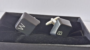 Up-cycled Keyboard Cufflinks