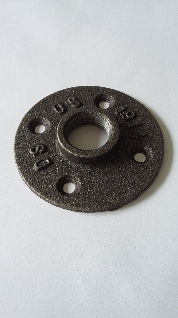 Iron Pipe Floor Flange 3/4