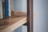 Shelving Unit from reclaimed timber