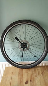 Bike Wheel Clock with Tyre