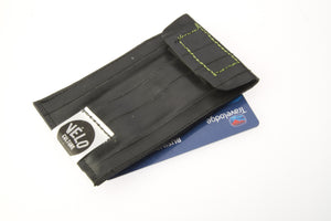 Cake Stop Caddy up-cycled innertube cyclists wallet