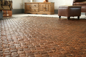 Leather Rug by Elvis & Kresse