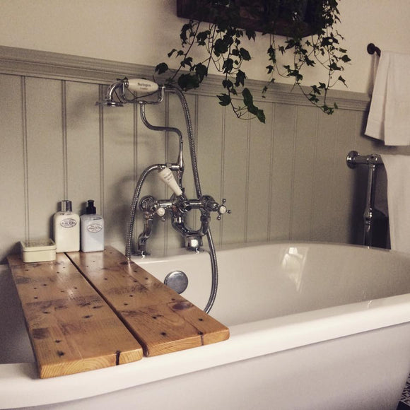 Reclaimed Timber Bath Caddy