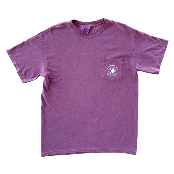 Under Ozark Skies Campfire Berry Short Sleeve Pocket T-Shirt