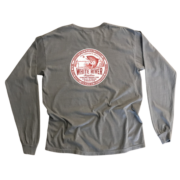 Red Trout Long Sleeve T-Shirt