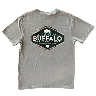 Buffalo Flow Short Sleeve Pocket T-Shirt