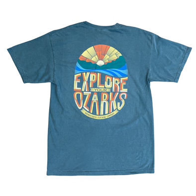Explore Your Ozarks Short Sleeve Pocket T-shirt