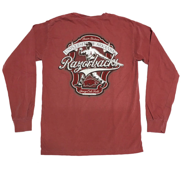 Grand Slam Crimson Pocket Long Sleeve
