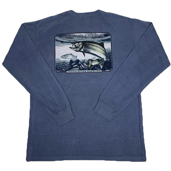 Woodcut Trout Long Sleeve
