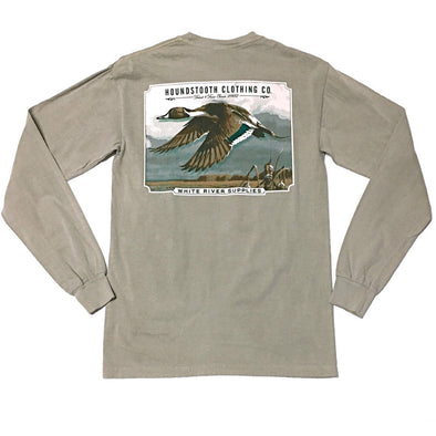 Woodcut Pintail Long Sleeve