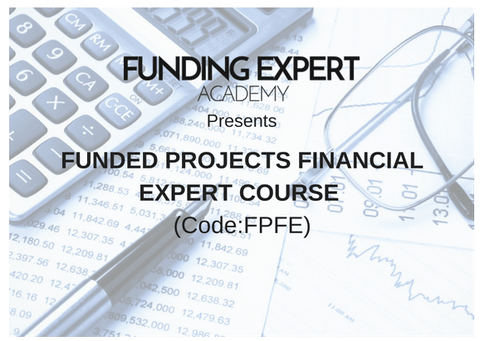 Funded Projects Financial Expert Course