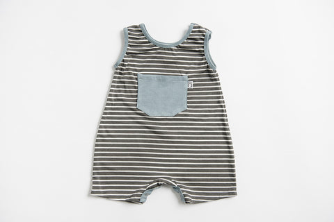 Red Hook Romper - slate - Lucy & Leo - 1