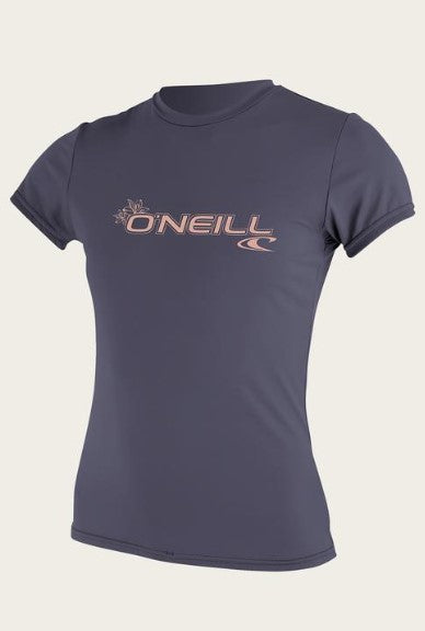 O'Neill Women's Basic Sun Shirt SPF 50+ (Non-Current)