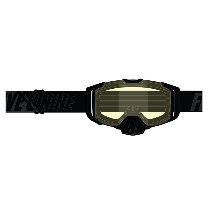 509 Sinister X6 Goggle - Black With Yellow