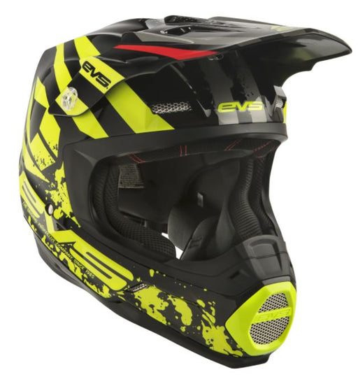 EVS T5 Off-Road Helmet - Grappler Black