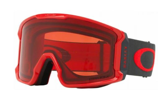 Oakley Line Miner Snow Goggle - Red/Prizm Snow Rose