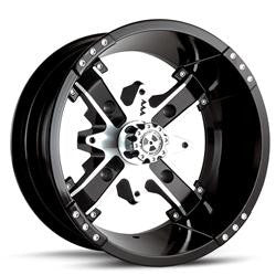 "MotoSport Alloy Nuke 12"" Wheel Set"