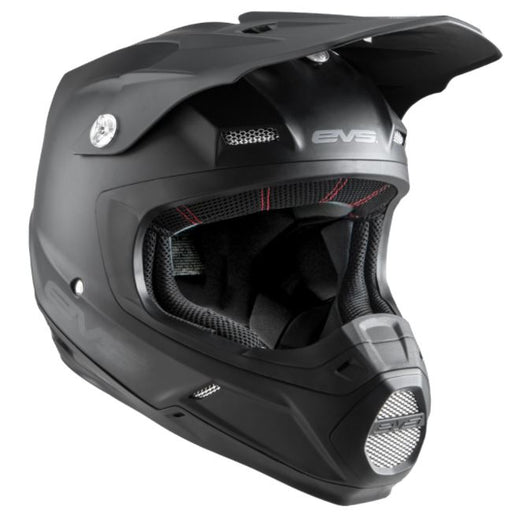 EVS T5 Off-Road Helmet - Solid Black