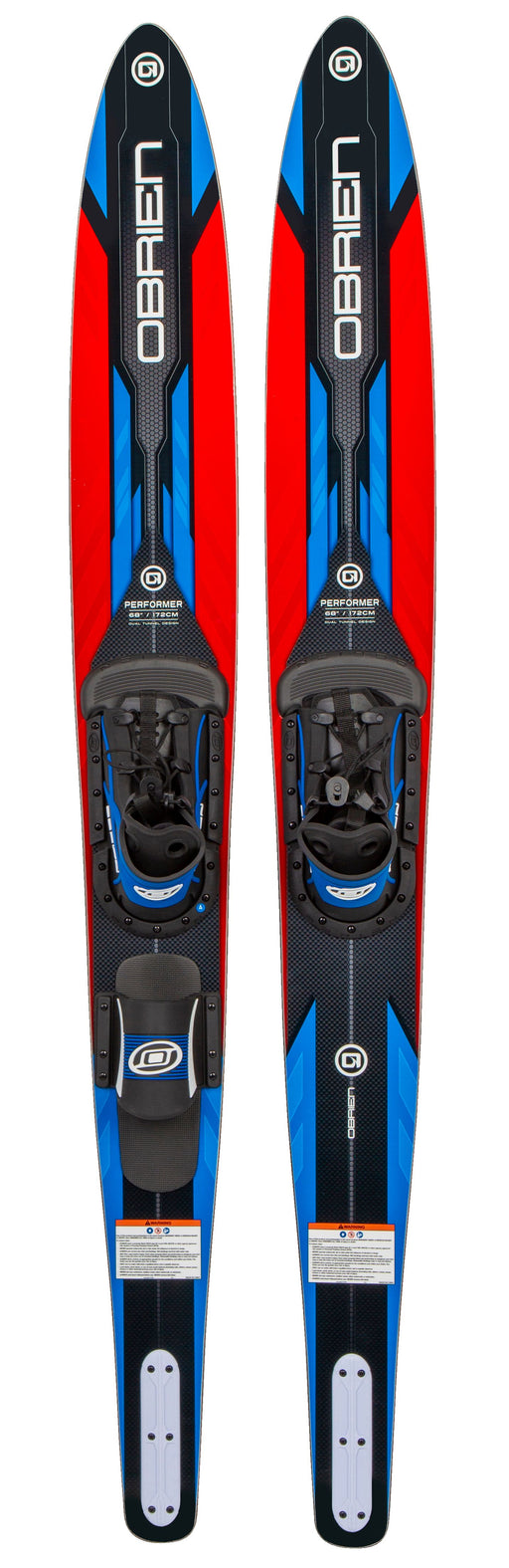 O'Brien Performer Combo Waterskis With Z8 & RT STD Bindings