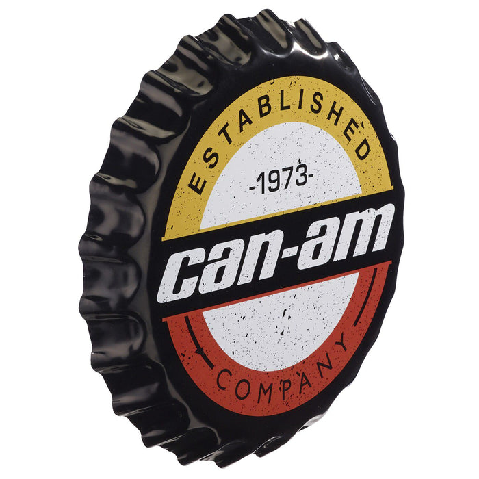 Can-Am Heritage Bottle Cap Sign