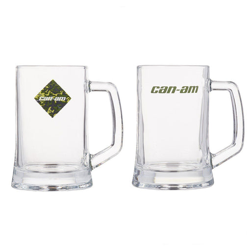 Can-Am Set Of Two 23 Oz Beer Mugs