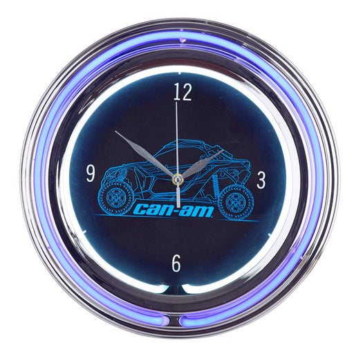 Can-Am Off-Road Neon Clock