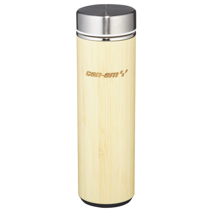Can-Am On-Road Double Wall Bamboo Thermal Bottle