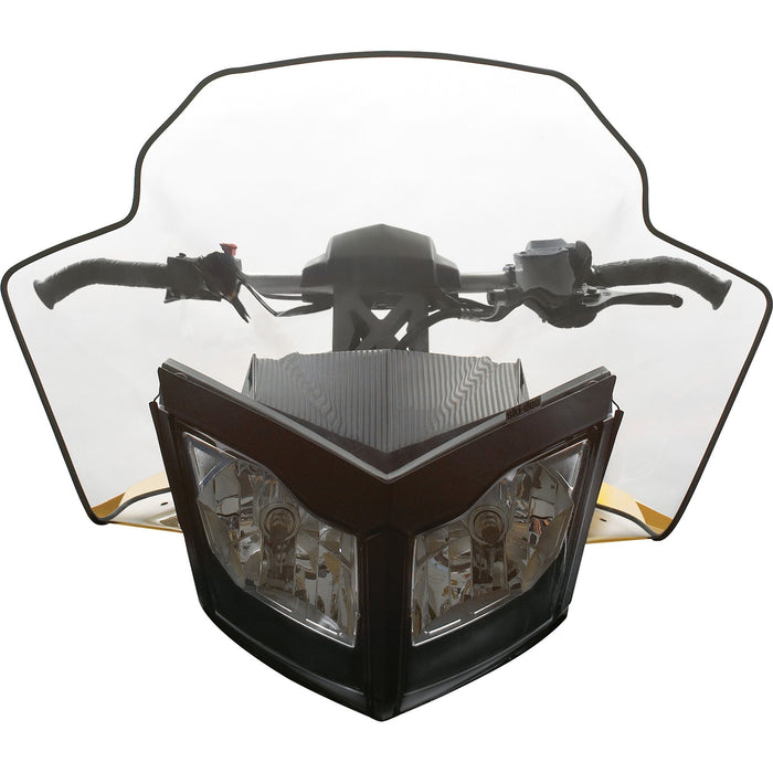 Ski-Doo Sport Performance Flared Windshield (REV-XP)