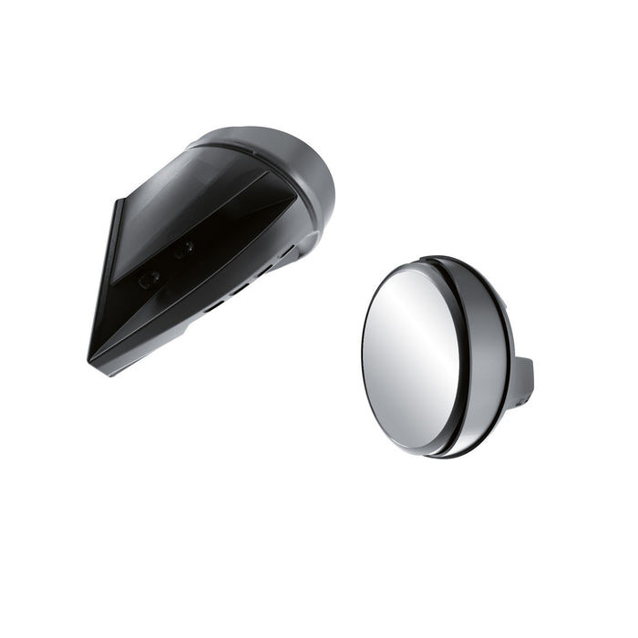 Ski-Doo Windshield-Mount Mirrors (REV-XU, XR (with extra high one-piece windshield))