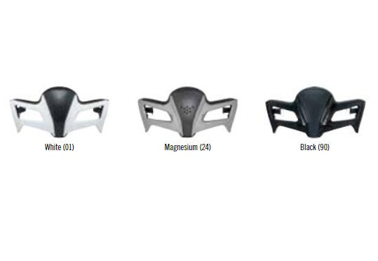 Can-Am Spyder ST-1 Hybrid Helmet Jaw Piece (Non-Current)