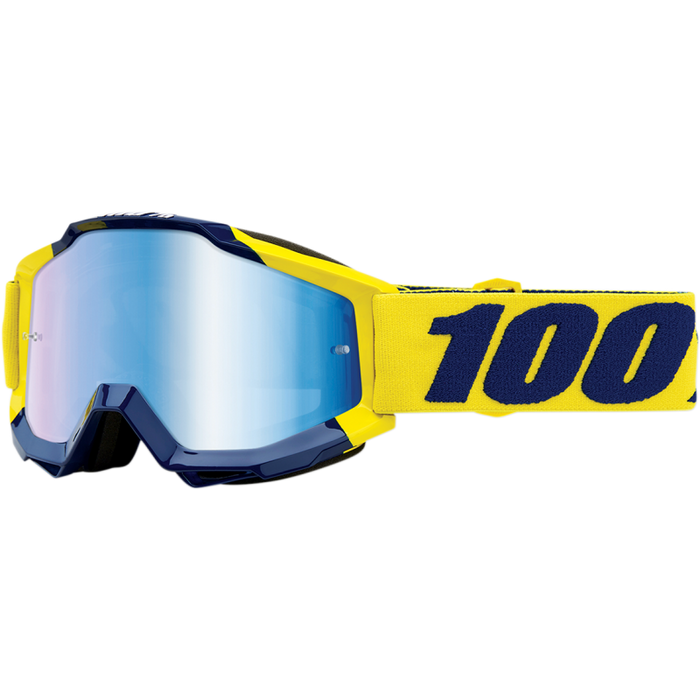 100% Accuri Supply Goggle - Mirror Blue Lens