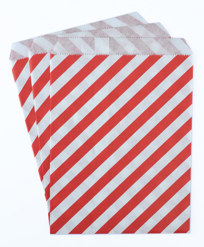 Red Candy Favor Bags (set of 25)