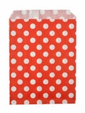 Red Polka Dot Candy Favor Bags (set of 25)