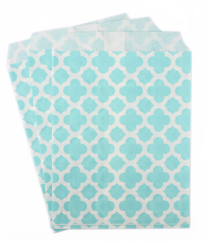 Baby Blue Candy Favor Bags (set of 25)