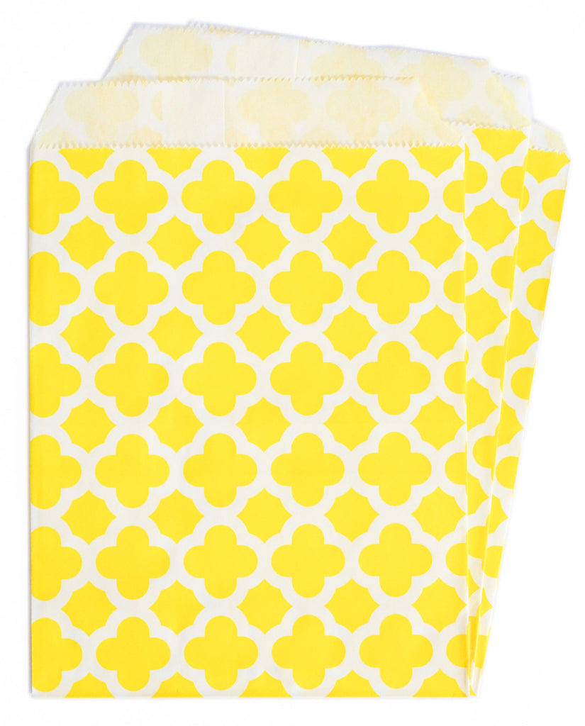 Yellow Candy Buffet Bags (25 count)