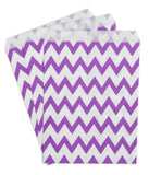 Purple Candy Buffet Bags (25 count)
