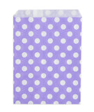 Lavander Polka Dot Candy Buffet Bags (set of 25)