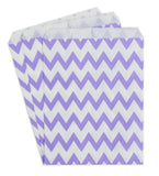 Lavander Chevron Candy Buffet Bags (set of 25)