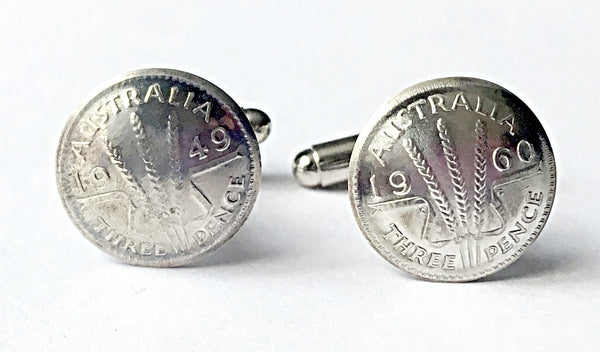 Re-minted AUSTRALIAN Coin Cufflinks