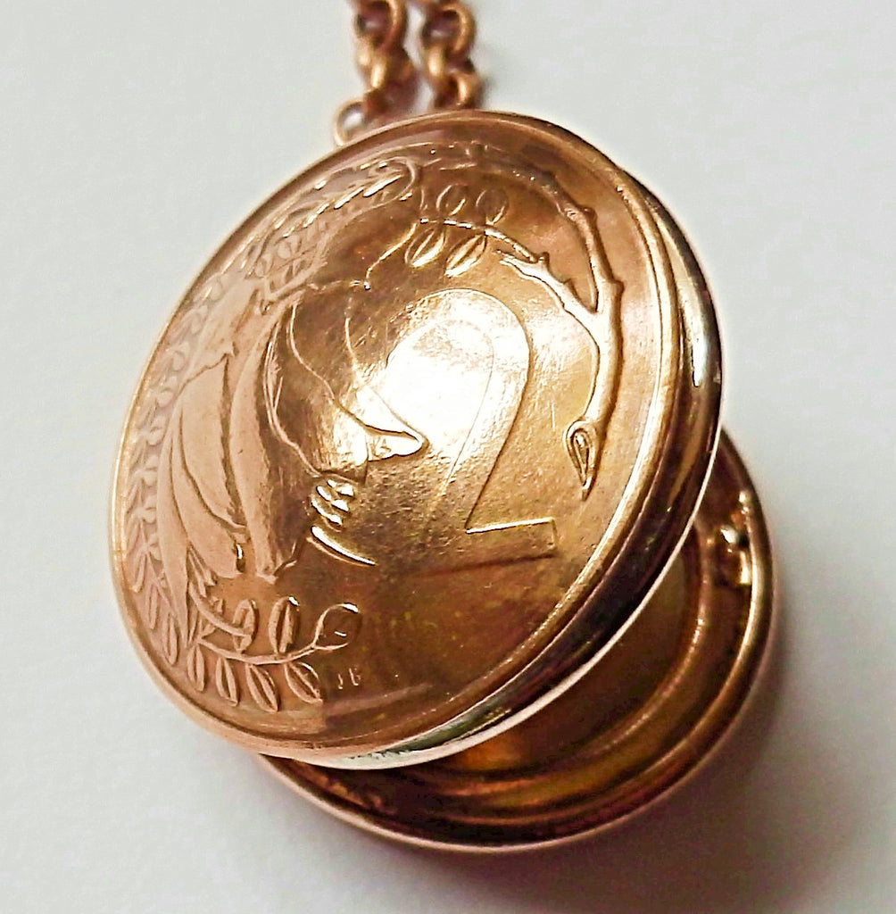 *Re-minted Two cent locket