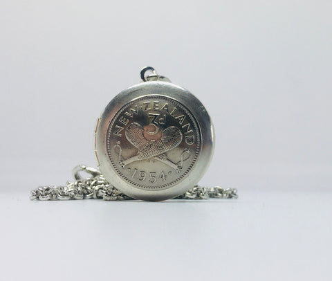 *Re-minted Locket - Silver Threepence