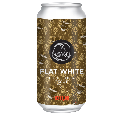 Flat White Nitro 440ml Cans