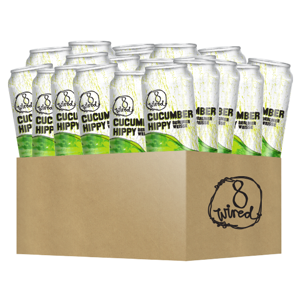 Cucumber Hippy 440ml Cans 24 Pack